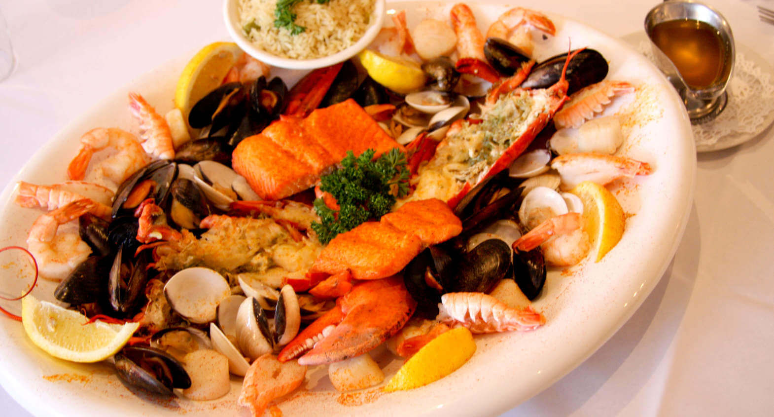 The seafood feast package